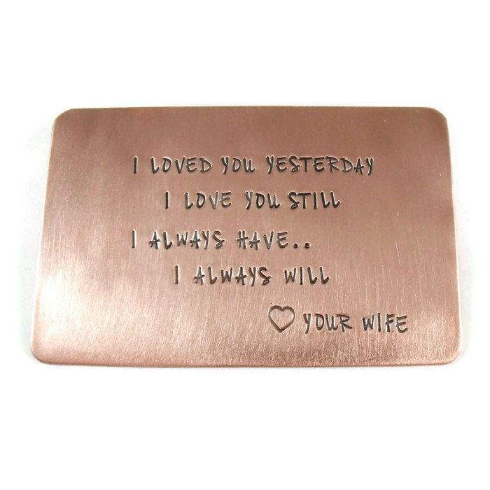 17 Best ideas about Copper Anniversary Gifts on Pinterest