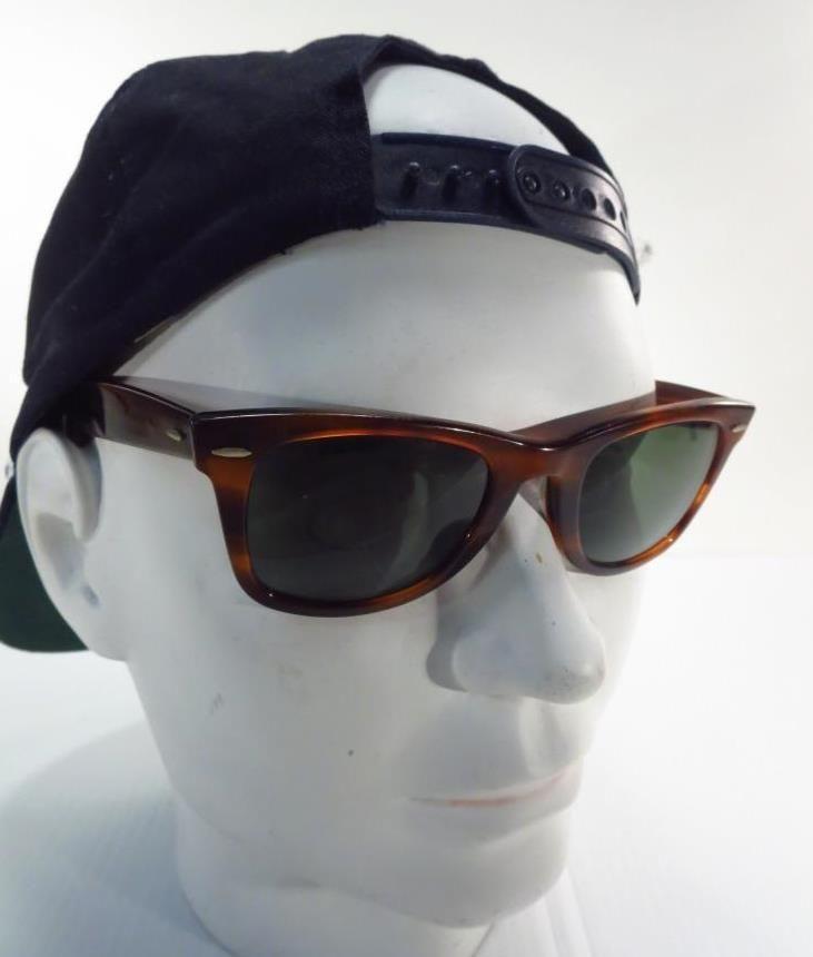 Wayfarer Boschamp; Ban Usa Ray Vintage Sunglasses Tortoise Lomb CxeodBr