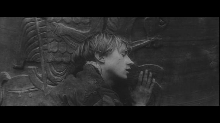 Andrei Rublev: Boriska resting on his church bell.