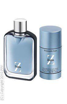 Z Zegna Gift Set - 3.4 oz EDT Spray + 2.5 oz Deodorant - Mens by Ermenegildo Zegna. $104.99. Z Zegna Gift Set - 3.4 oz EDT Spray + 2.5 oz Deodorant - Mens. Z Zegna Gift Set - 3.4 oz EDT Spray + 2.5 oz Deodorant - Mens