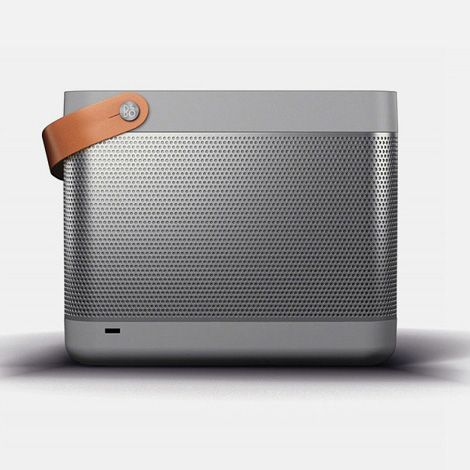 The first release from Bang & Olufsen's new product line, B Play, is a compact and portable audio system called Beolit 12. Featuring a full-grain leather strap handle for portability, the Airplay-enabled speaker lets you playback music from your iOS devices, either wirelessly or wired.