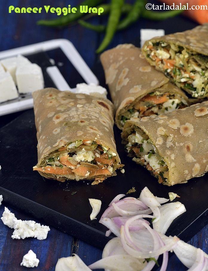 Paneer Veggie Wrap Wraps And Rolls Paneer Rolls Veggie