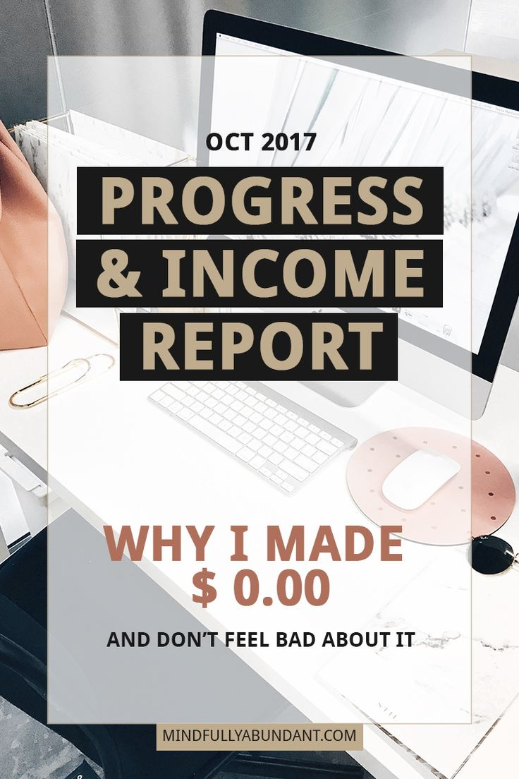Launching a brand new blog comes with expectations. In my first Progress and Income Report for Oct 2017 I'm sharing what was going on behind the scenes of the blog launch, how much I have spend (and on what) as well as why I don't feel bad or like a failure regarding my earnings. Masha @ Mindfully Abundant | blogging | income report | mompreneur | how to start a blog | blogging for beginners | mom blog | fempreneur | small business | wahm | make money online | make money blogging | side…