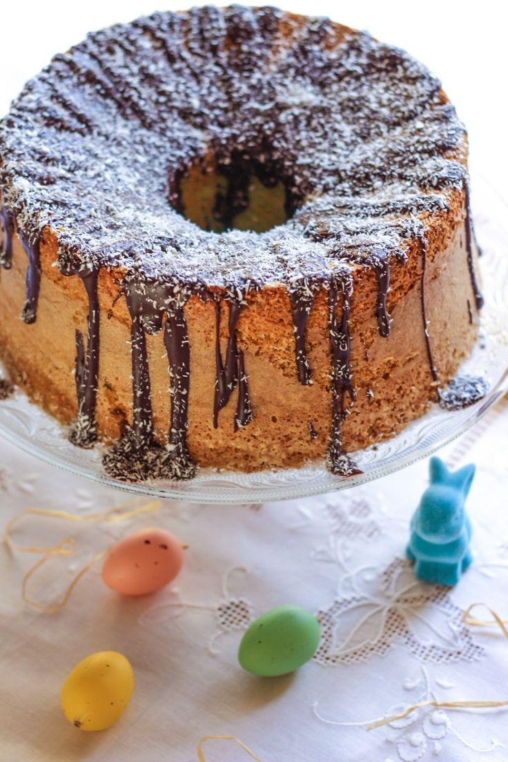 FLUFFOSA MENTA E COCCO / MINT-COCONUT CHIFFON CAKE