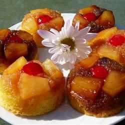Pineapple Upside-Down Cupcakes, photo by Molly
