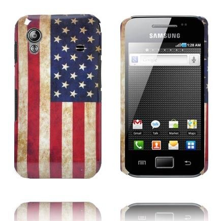 American Lippu Samsung Galaxy Ace Suojakuori