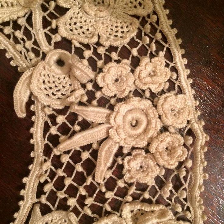 Lusine Vrachkov-s Her modern Irish crochet