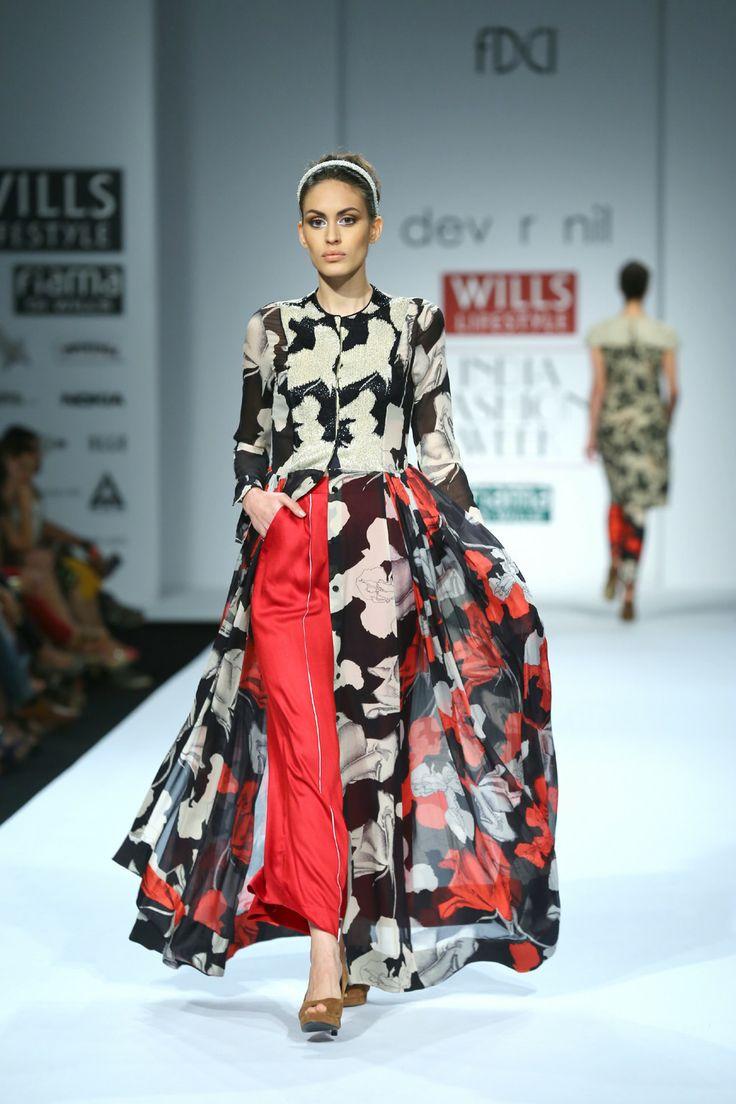 Dev R Nil #WIFW Fall/Winter 2014-15