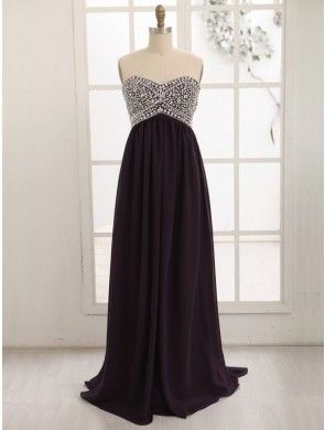 Sleeveless Affordable prom dress