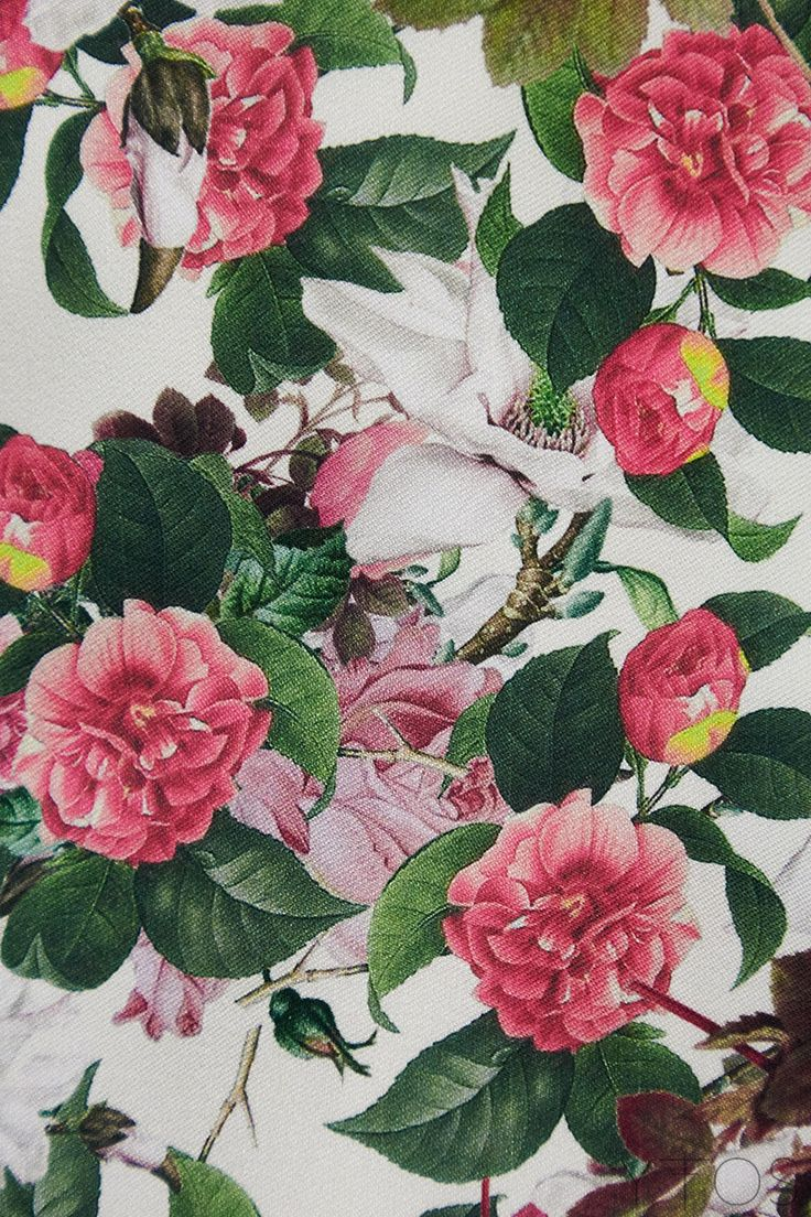 Yfos Online Shop | Clothes | Dresses | Lilies Mini Dress by Milkwhite (Pattern)