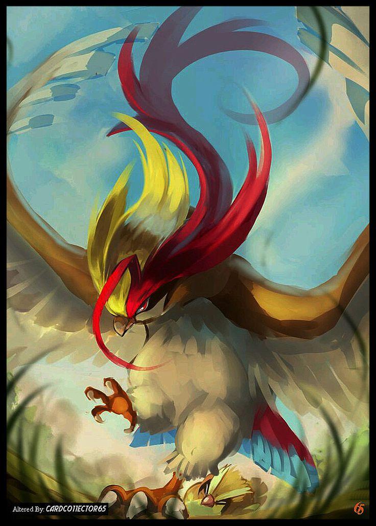Pokemon, Mega Pidgeot - MTG - Sleeves
