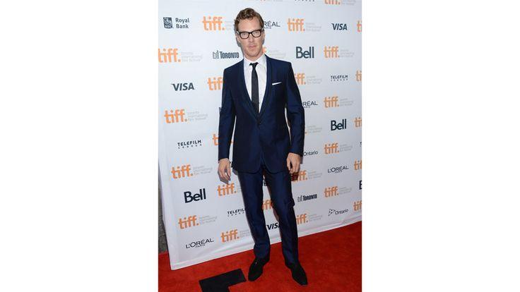 Solapas y corbatas estrechas, el must de Sir Cumberbatch