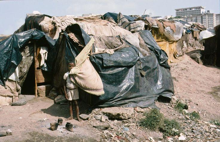 Slums - die hässliche Seite Indiens.