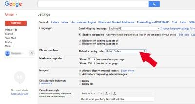 Gmail.com | Country Code For Mobile Number - TrendEbook