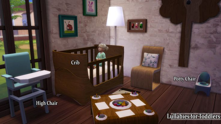101 Best Ts4 Toddlers Bedroom Amp Objects Images On