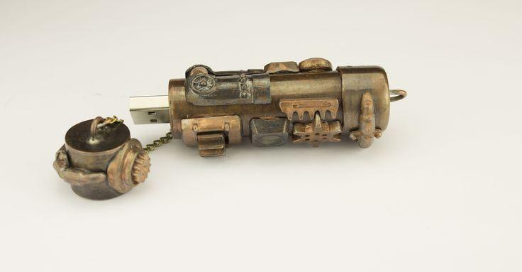 usb 32 Gb steampunk