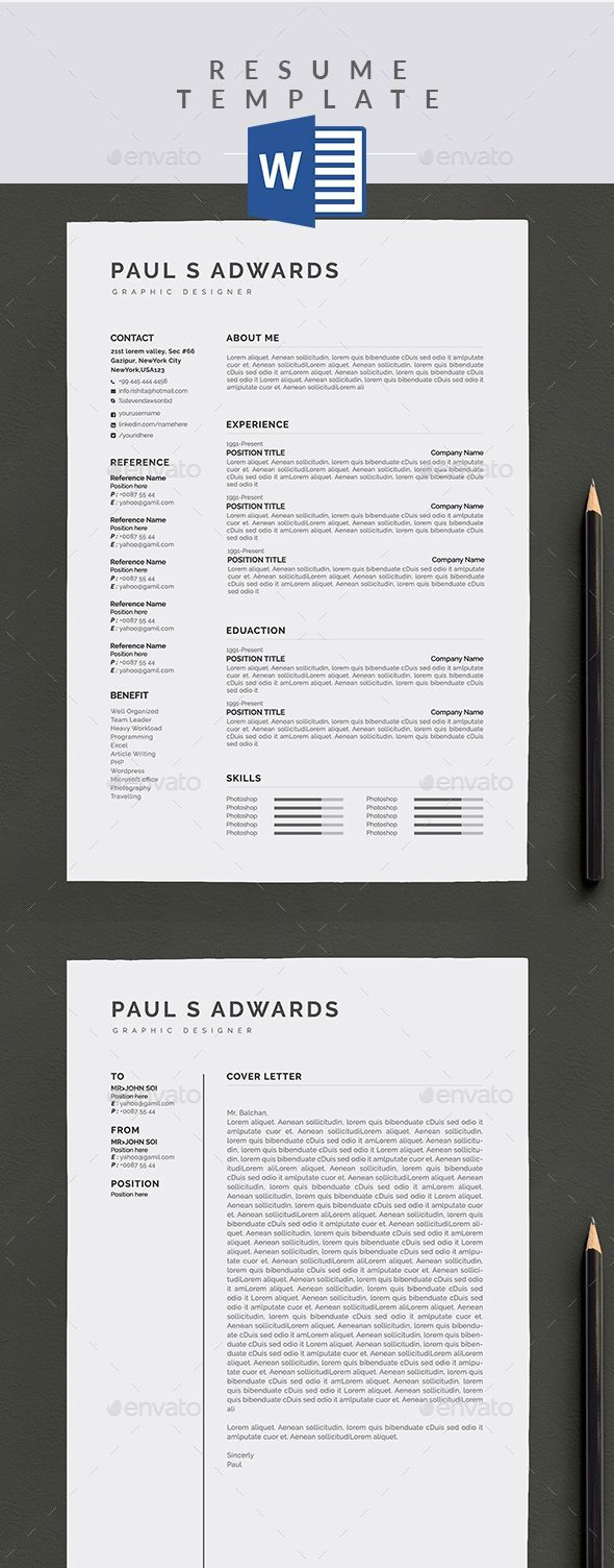 instructional design cover letter%0A  Resume  Resumes Stationery Download here  https   graphicriver net