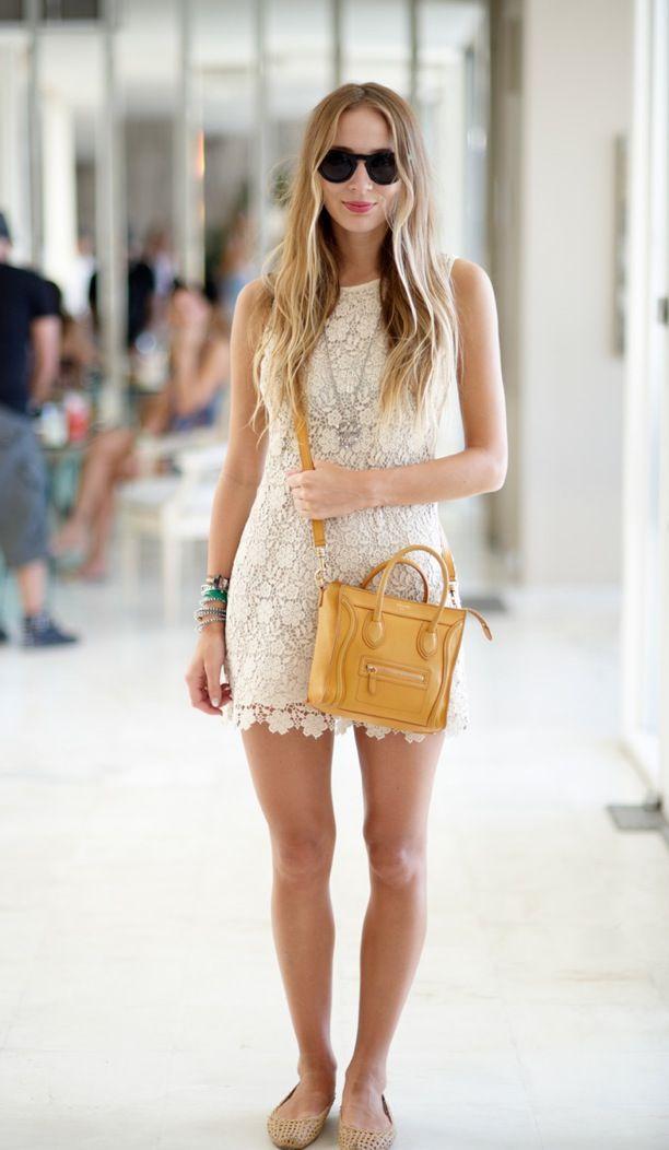 Street Style: Crochet Mini Dress HARLEY VIERA NEWTON COACHELLA ...