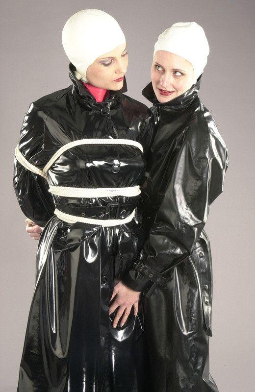 16 best tied up in raincoats images on pinterest rain. Black Bedroom Furniture Sets. Home Design Ideas