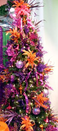 decorating with orange and purple - Google Search