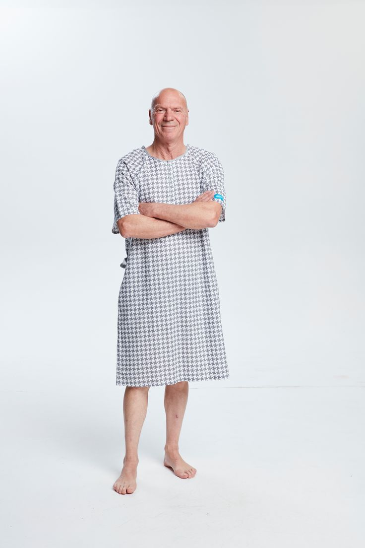 Not just for the ladies, Hospital Glamour ensures planned stays for the gents is just as dignified and comfortable.