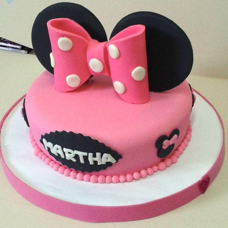 Torta Minnie Mouse... Cumpleaños niña
