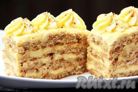 Рецепт ореховых пирожных. Хочу поделиться удивительным рецептом приготовления наивкуснейших ореховых пирожных, которые получаются очень вкусными, нежными и просто тающими во рту. Конечно, с их приго…