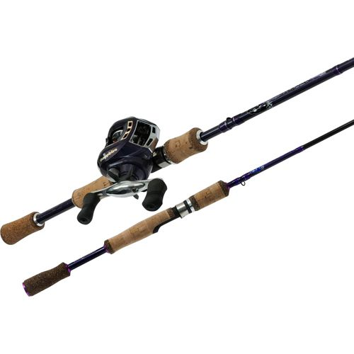 Got a dad who loves fishing? Rapala Sapphire Rod And Reel Bait Casting Combo (SA200TR65M2) - Purple