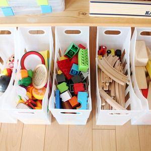 楽しくお片付け!100均グッズのおもちゃ収納術で子供部屋をスッキリ整頓! - M3Q - 女性のためのキュレーションメディア
