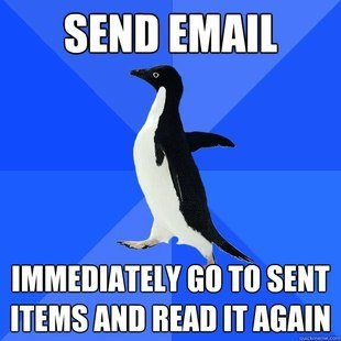 Socially awkward penguin is me. I am the socially awkward penguin.