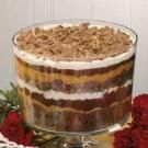 Toffee Brownie Trifle Recipe -    This decadent combination of pantry items in a terrific way to dress up a brownie mix. Try it with other flavors of pudding or substitute your favorite candy bar. It tastes great with low-fat and sugar-free products, too. -Wendy Bennett, Sioux Falls, South Dakota