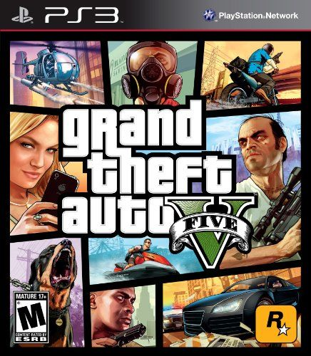 Grand Theft Auto V - Playstation 3 www.videogamestore.info #PS3