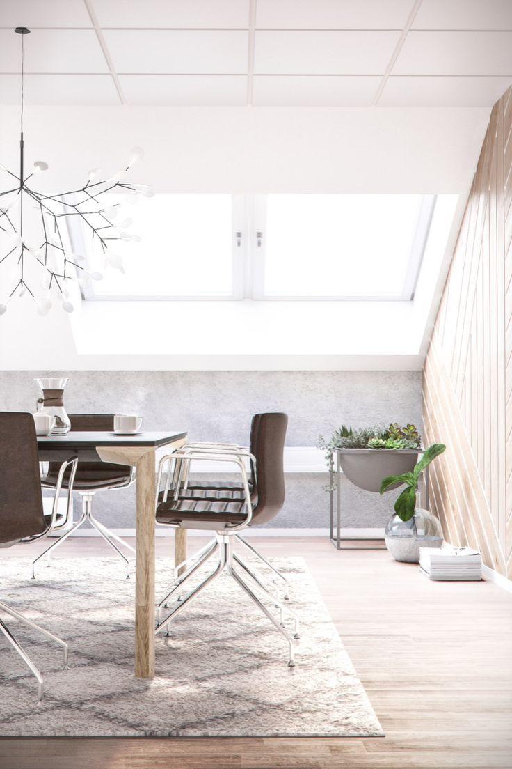 Humlegårdsgatan, conference room/ detailed view, Stockholm, Interior design, Scandinavian design, 3D visualisation, render, archviz, 3Ds Max, modern design, styling