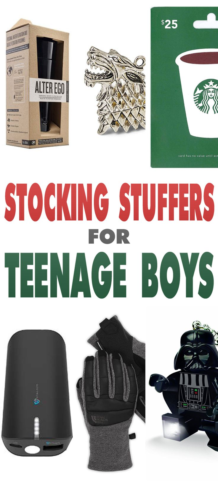 Stocking Stuffers for Teenage Boys - The Cottage Market