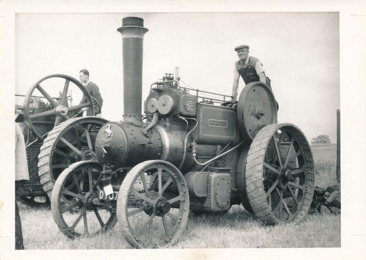 Steam Tractor Engine Photo Margaret | eBay
