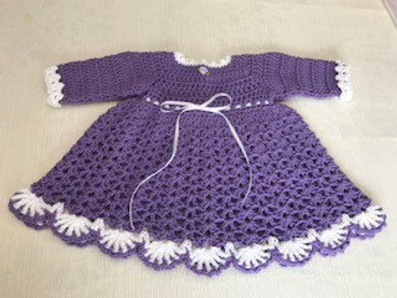 c726bc7ce Baby Dress Winter PATTERN 9 TO 12 Mth Mary