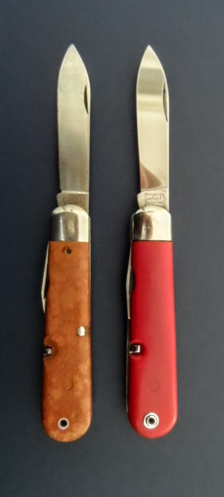 Swiss Army Knife Model 1951 Wenger Del 233 Mont With Grilon