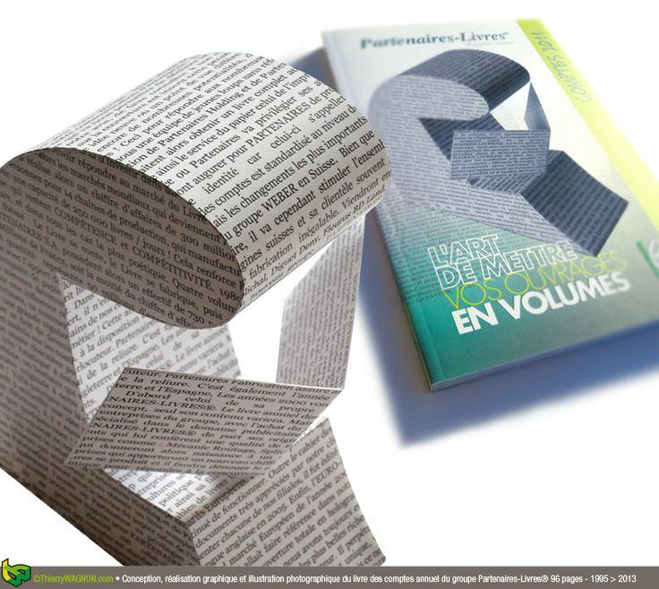 Conception et réalisation du cahier des comptes annuel 2011 du groupe Partenaires-Livres - 96 pages