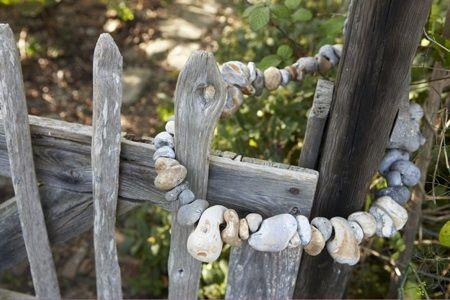 beach stone gate clasp.