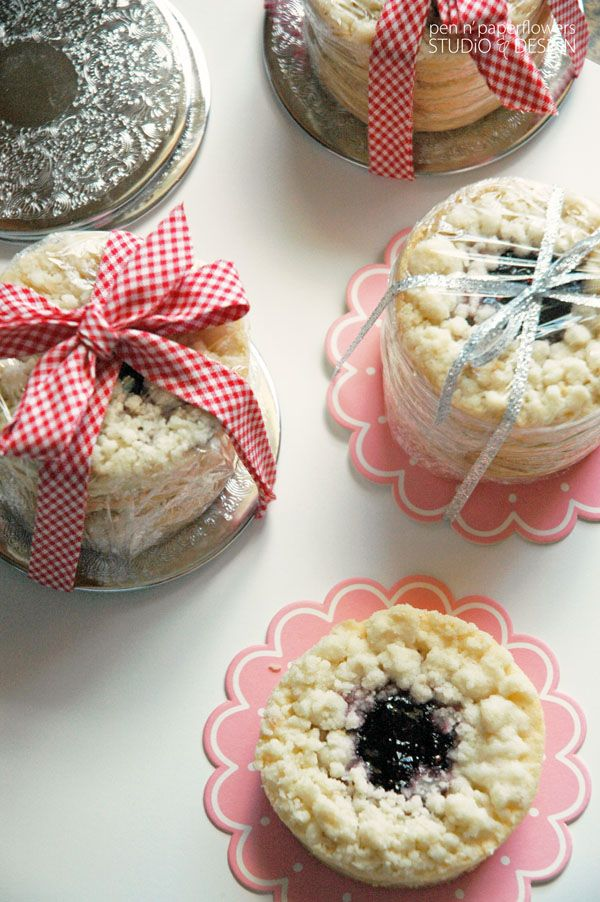 Use beverage coasters as a platform for stacking cookies for Gift Giving.