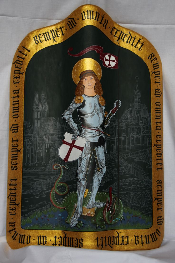 The Pavise with image of St George