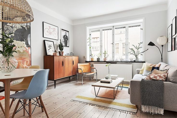 Retro-scandinav într-un apartament de numai 40 m² Jurnal de design interior