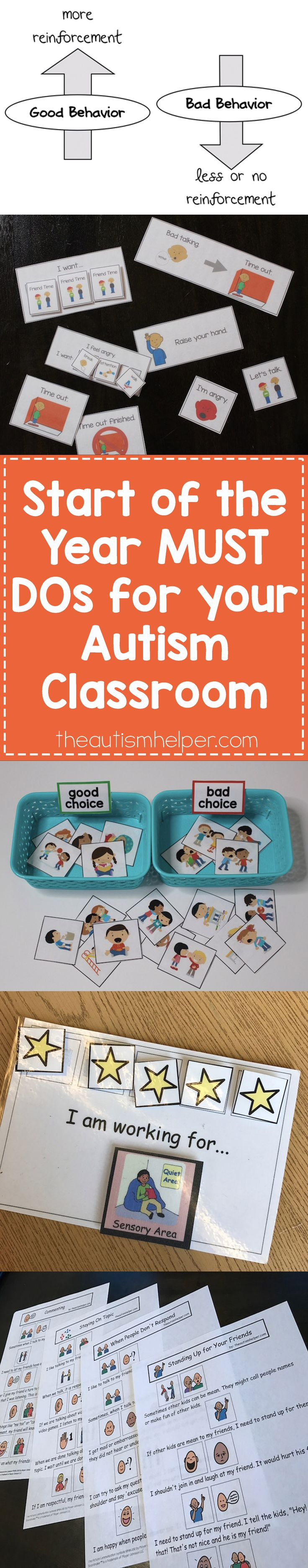192 best Visuals for an Autism Classroom images on Pinterest