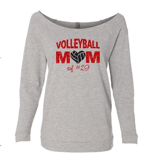 Volleyball Mom Shirt. Volleyball Mom. Volleyball. Custom Volleyball Shirt. Off Shoulder Shirt.Volleyball Mom Sweatshirt. School spirit shirt by TNTCustomApparel on Etsy https://www.etsy.com/listing/250111395/volleyball-mom-shirt-volleyball-mom