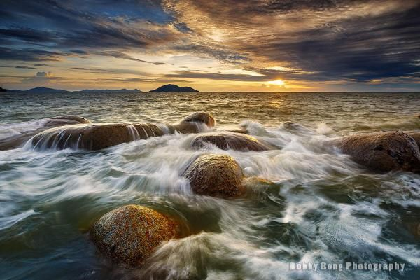 Sea waves painting - Landscape Photography by Bobby Bong  <3 <3