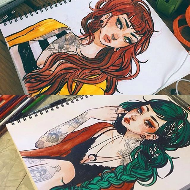 Art inspiration to the max!! credit goes to @jacquelindeleon for these beautiful…