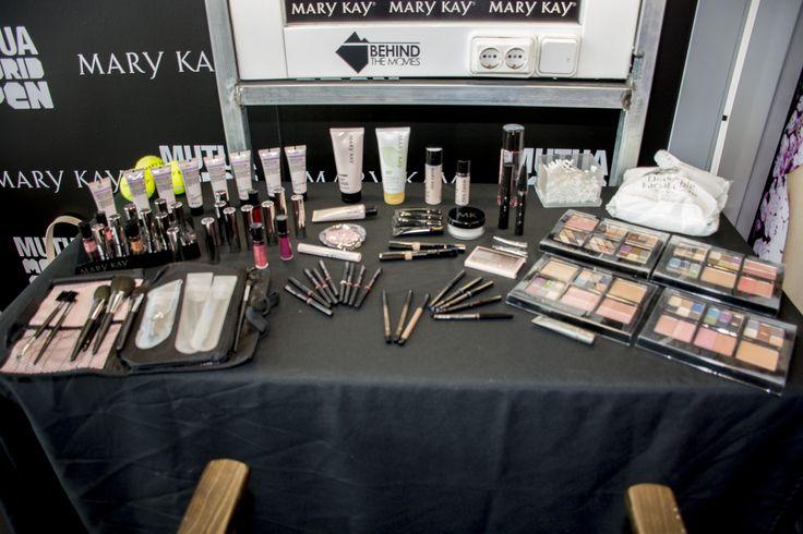 ¡List@s para el segundo día de belleza en el Mutua Madrid Open. #makeup #marykaytenis