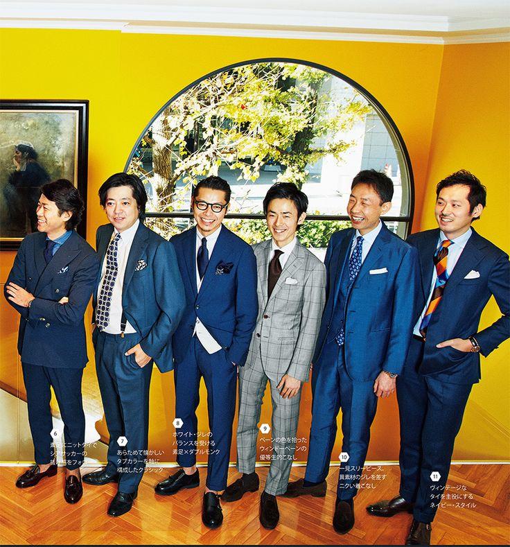 この春はスーツが面白い。男らしさを演出する構築的なシルエット、クラシックな意匠、ワードローブにないアンニュイなカラーパレット……。ちょっと気取って過ごしたいウィークエンドに格好のスーツがよりどりみどりだ。37人の東京ジェントルマンによる旬なスーツスタイルのオンパレードである。