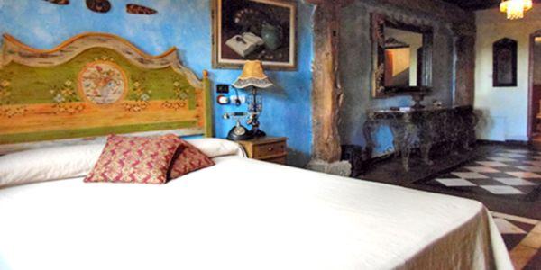 Posada del Duratón, Habitación huéspedes, finca boda Madrid, http://www.buscabodas.com