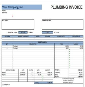 best free invoice template